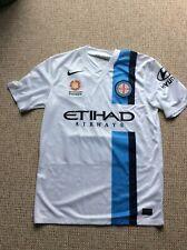 More details for melbourne city fc 2014/15 rare adults football shirt medium foc postage u.k.