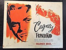 FRISCO KID 1944 RE-RELEASE, ORIGINAL TITLE LOBBY CARD - JAMES CAGNEY
