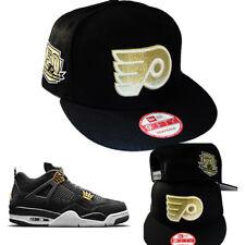 New Era NHL Philadelphia Flyers Snapback Hat Matches Air Jordan Retro 4 Royalty