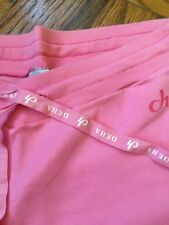 New DEHA Light Pink Cotton Athletic/Sport Pants Made in Italy SZ M