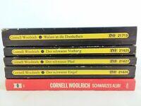 🔫  5x Cornell Woolrich - Diogenes Bücherpaket Sammlung 👮♂️ Thriller Krimis