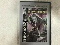 AGENTE SECRETO DVD THE SECRET AGENT ALFRED HITCHCOCK MADELINE CARROL SUSPENSE
