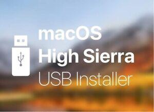 ✅✅Mac Os x HIGH SIERRA recovery, restore & repair on a USB flash drive✅✅