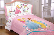 TWIN - Disney Princess - Dream Big Belle Aurora Cinderella COMFORTER