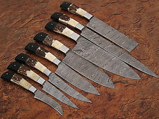 Custom made damascus Blade Kitchen knife 08 Pc's set, 1009-8