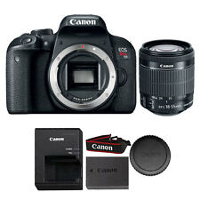 Canon EOS Rebel T7i / 800D 24.2MP DSLR Camera with Canon 18-55mm IS STM Lens