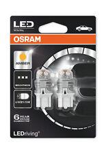 W21/5W Amber LED W3x16q 1.5W OSRAM LEDriving PREMIUM 7915YE-02B New