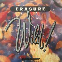 ERASURE Wild! 1989 (Vinyl LP)