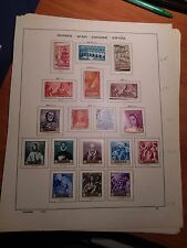 Mint, Lightly Hinged VF Mint Sets of Spain. Years 1957-1965. A Great Bargain!