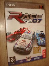 GIOCO CORSE PC-DVD ROM RACE 07 OFFICIAL WTTC GAME COLLANA MX4 IN ITALIANO SIGILL
