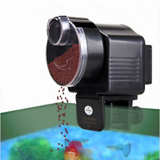 Automatic Adjustable Fish Tank Pond Food Feeder Feeding Timer Aquarium