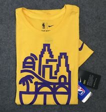 Nike Dri-Fit Tee * NBA Basketball LA Lakers Yellow Shirt for Men COD Paypal