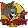 Tom and Jerry Patch Embroidered Badge Iron Sew On Clothes Bag T Shirt Top Jeans