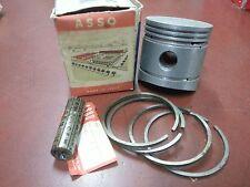 PISTONE ASSO WERKE X GILERA 175cc TURISMO 4T DIAMETRO 60,2