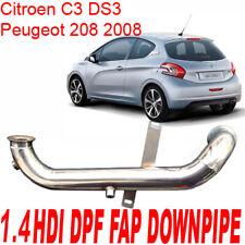 Tubo Rimozione DOWNPIPE FAP DPF Peugeot 206 208 2008 1.4 HDi 70cv 8HX 8HZ PS1