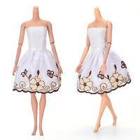 "Fashion Beautiful Handmade Party Clothes Dress for 9""  Doll Mini 102 L Nj"