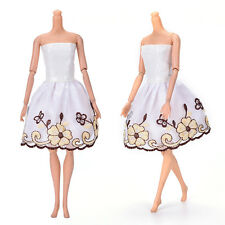 "Fashion Beautiful Handmade Party Clothes Dress for 9"" Doll Mini 102 SE"