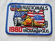 NHRA 1980 Original US NationalsIndianapolis Indiana DragRacing Event Patch