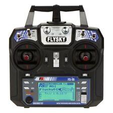 Flysky FS-i6 AFHDS 2A 2.4GHz 6CH Control remoto para Heli Glider + FS-iA6 R R7W8