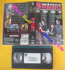 VHS Film MISTER WONDERFUL 1995 Matt Dillon Parker Sciorra LUCKY RED(F138) no dvd