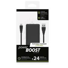 Mophie Powerboost Portable Charger Power Bank 24 Hours Extra Battery 5,200MAH