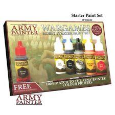 New The Army Painter Warpaints Starter Paint Set