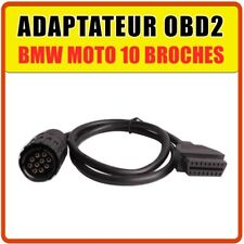 Adaptateur compatible Moto BMW OBD2 vers 10 broches - R-Series K-Series S-Series