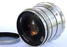 INDUSTAR 26-m I-26m 2.8/52mm Rangefinder lens 39mm screw 10-blades