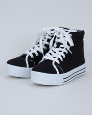 11055929e8b6 Qupid Maniac-05 Women High Top Front Lace Platform Sneaker