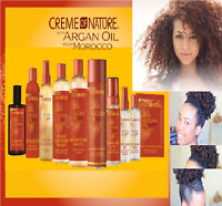CREME OF NATURE  Moroccan Argan Oil Hair Care Styling Products * UK SELLER *