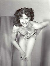 Vintage Original 1940s-60s Chair Rp- Skinny Magnifique Femme- Bends Over-