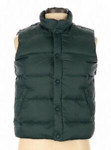 Cabela's Womens Large Hunter Green Down Puffer Vest NWOT inc many pockets