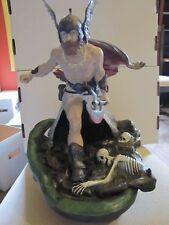 Frank Frazetta's Dark Kingdom statue SIGNED  # 131/250  RARE  Brand new in box