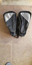 Motorcycle side storage bags