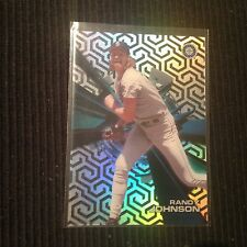 2015 TOPPS HIGH TEK RANDY JOHNSON PATTERN #4 B (CHAIN LINK)  SEATTLE MARINERS