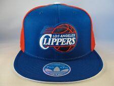fc51c0d8c87 Los Angeles Clippers NBA Adidas Flex Cap Hat Size L XL Blue Red