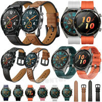 Silicone Leather Band Bracelet Strap Replacement For Huawei Watch GT Magic 22MM