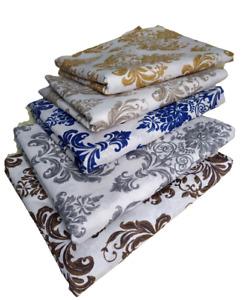Tessuti in cotone stampato cm280x280 stoffa per divani tappezzeria tende arredo