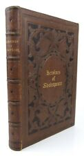 The Heroines of Shakespeare ~ Female Engravings Illustrated Leather Plays Poet