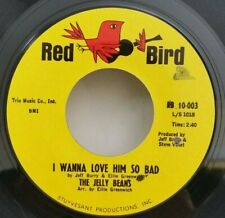 Jelly Beans Red Bird 10-003 I WANNA LOVE HIM SO BAD (GREAT SOUL 45) PLAYS VG++