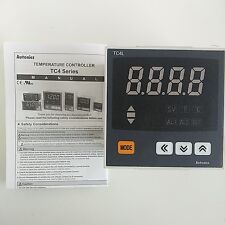 AUTONICS TC4L-24R TEMPERATURE CONTROLLER RELAY & SSR OUTPUT 1/4 DIN 100-240 VAC