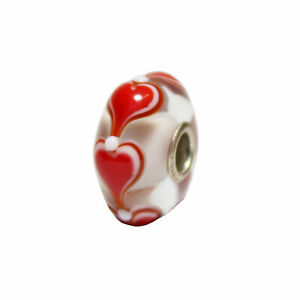 *Collectors Item* Trollbeads Wishes & Kisses  Collection Bead TGLBE-00087-A