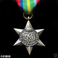 PACIFIC STAR MEDAL WW2 BRITISH COMMONWEALTH MILITARY AWARD FULL SIZE REPRO NEW
