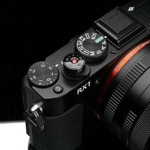 Gariz Soft Release Shutter Button XA-SBAGS Sony RX1RII RX1 Almandite Garnet Red