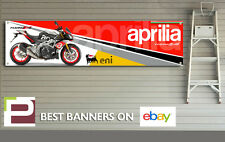 Aprilia Tuono V4 1100 Factory Banner for Workshop, Garage, 2015, 1300mm x 320mm