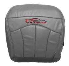 1999-2003 Ford F150 Lariat 4x4 2WD Driver Side Bottom Vinyl Seat Cover GRAY