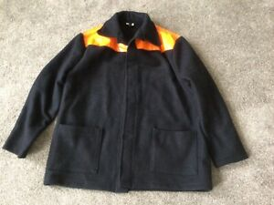 VINTAGE DONKEY JACKET X  LARGE SIZE WITH PVC SHOULDERS GOOD CONDITION