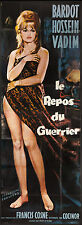 """LOVE ON A PILLOW 1962 Huge RARE 44""""x124"""" French poster sexiest Brigitte Bardot"""