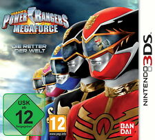 Power Rangers: Megaforce (Nintendo 3DS, 2013, Keep Case)