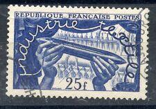 TIMBRE de FRANCE OBLITERE N° 881  EXPOSITION TEXTILE A LILLE /